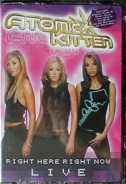 Atomic Kitten - Right Here Right Now ( Live ) ( MINT )