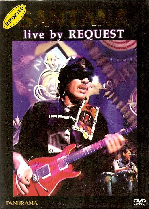 Santana - Live By Request ( MINT )