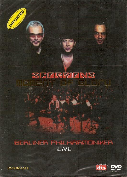 "Scorpions & Berliner Philharmoniker - Moment Of Glory "" Live "" ( MINT )"