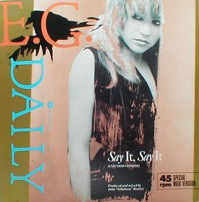 E.G. Daily - Say It, Say It ( Extended Version ) ( MINT )