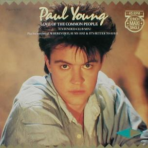 Paul Young - Love Of The Common People ( Extended Club Mix )