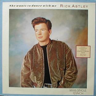Rick Astley - She Wants To Dance With Me