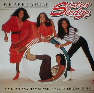 Sister Sledge - We Are Family ( Long Version ) ( MINT )