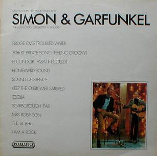 Alan Caddy Orchestra & Singers, The - Million Copy Hits Made Famous By Simon  & Garfunkel