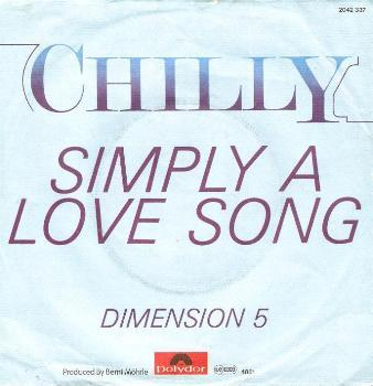 Chilly - Simply A Love Song