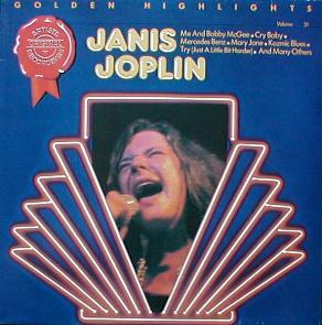 Janis Joplin - Golden Highlights