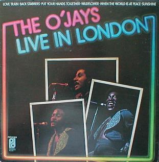 O'Jays, The - The O'Jays Live In London