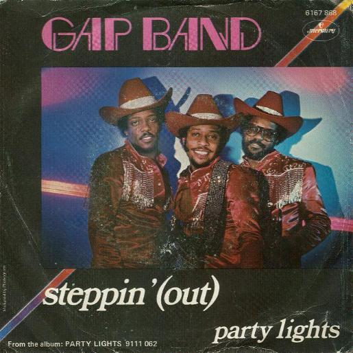 Gap Band, The - Steppin' ( Out )