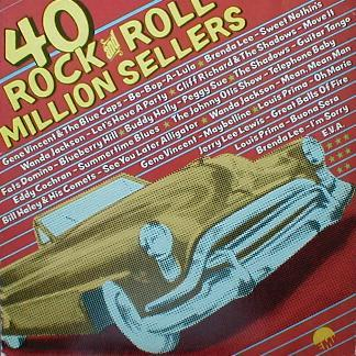 Various - 40 Rock & Roll Million Sellers