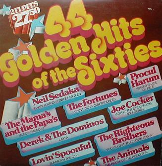Various - 44 Golden Hits Of The Sixties