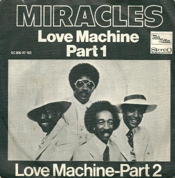 Miracles, The - Love Machine