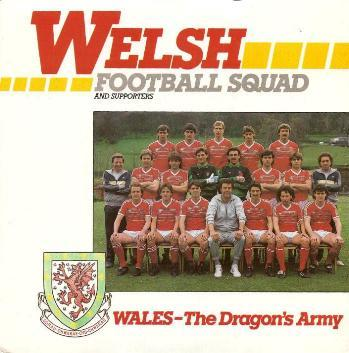 Welsh Football Squad & Supporters - Wales - The Dragon's Army
