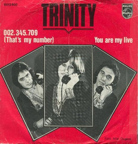 Trinity - 002.345.709 ( That's My Number )