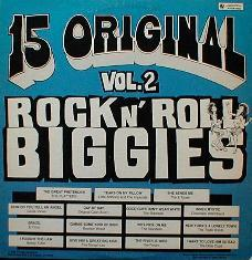 Various - 15 Original Rock N' Roll Biggies Vol. 2