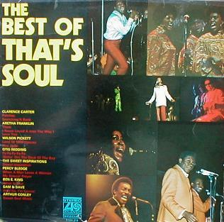 Various - The Best Of That's Soul