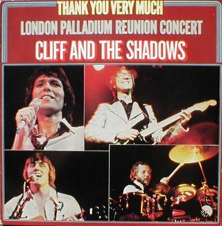 Cliff Richard & The Shadows - Thank You Very Much ( London Palladium Reunion Concert )