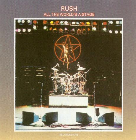 Rush - All The World's A Stage ( MINT )