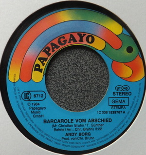 Andy Borg - Barcarole Vom Abschied