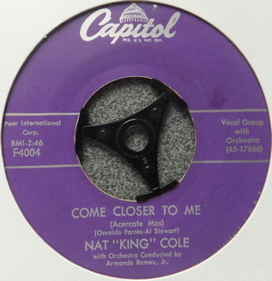 "Nat ""King"" Cole - Come Closer To Me ( Acercate Mas )"