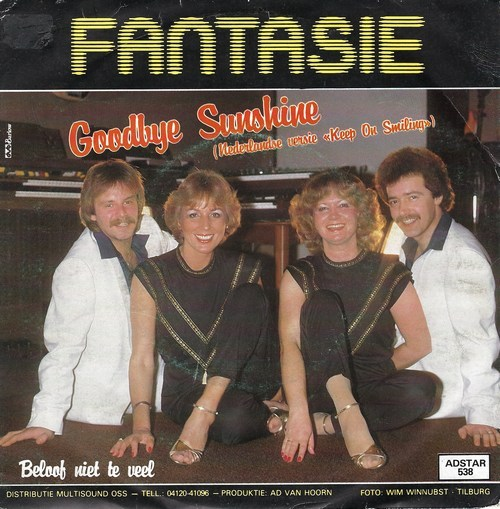 Fantasie - Goodbye Sunshine ( Keep On Smiling )