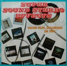 Unknown Artist - Super Sound Stereo Effects
