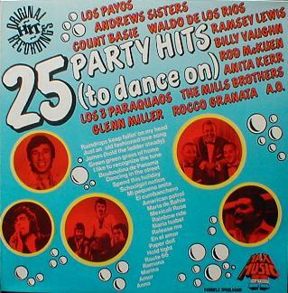 Various - 25 Party Hits ( To Dance On )